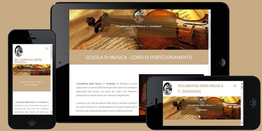 Nuovo sito web Accademia della Musica Francesco Geminiani Altopascio